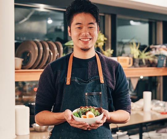 新しい「出会い」を求め続ける料理男子